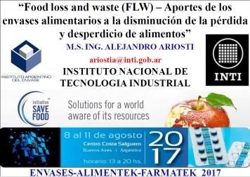 Aportes de los envases alimentarios a la disminución de la pérdida y desperdicio de alimentos