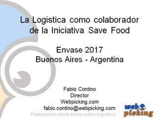 La Logistica como colaborador de la Iniciativa Save Food