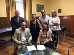 Destacable compromiso entre el IAE y la Universidad Nacional de Rosario