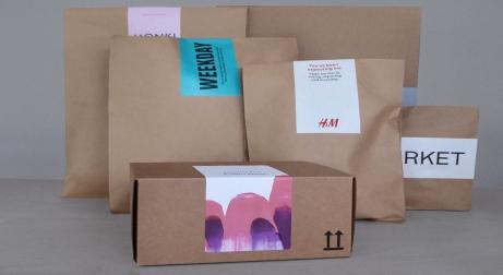 H&M DESARROLLA UN SISTEMA DE EMBALAJE