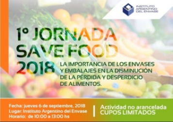1ra Jornada Save Food en el IAE
