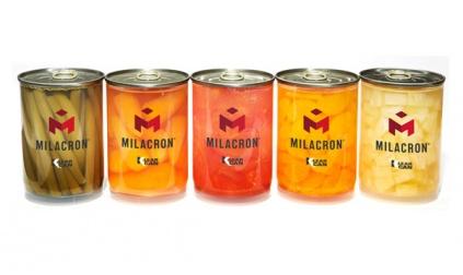 Novedosa lata de plástico para almacenamiento de alimentos y bebidas